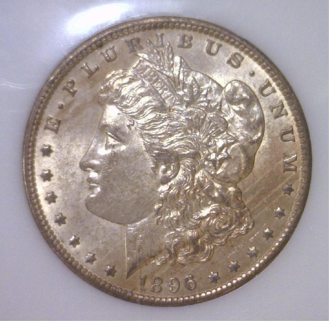 1896-O Morgan Silver Dollar Uncirculated PCI MS61
