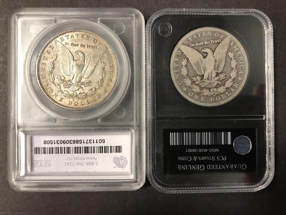 Lot of 4 Morgan Dollars 1881-S 1892 1897-S 1899-O - 6