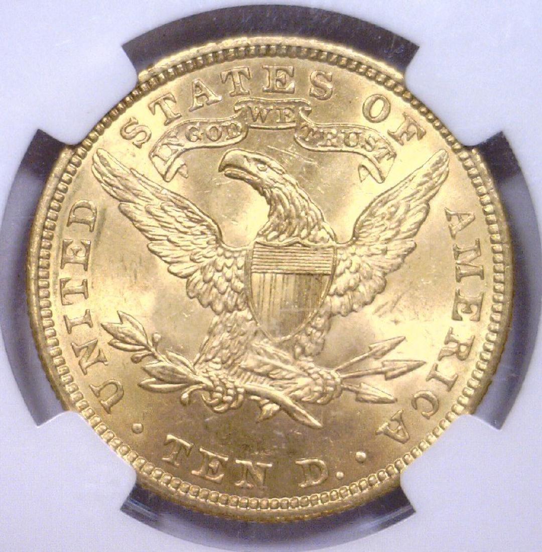 1907 $10 Liberty Head Gold Eagle NGC MS64 - 3