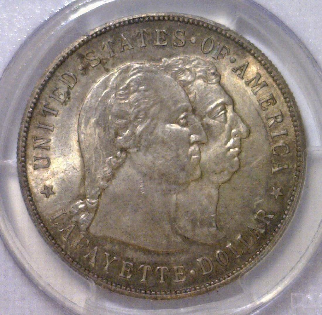 1900 Lafayette Commemorative Silver $1 PCGS MS64