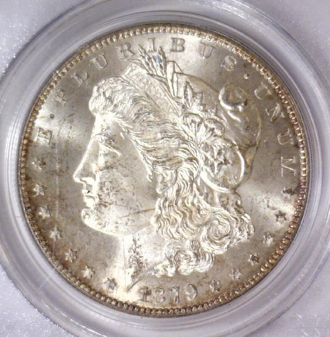 1879-S Morgan Silver Dollar PCGS MS64