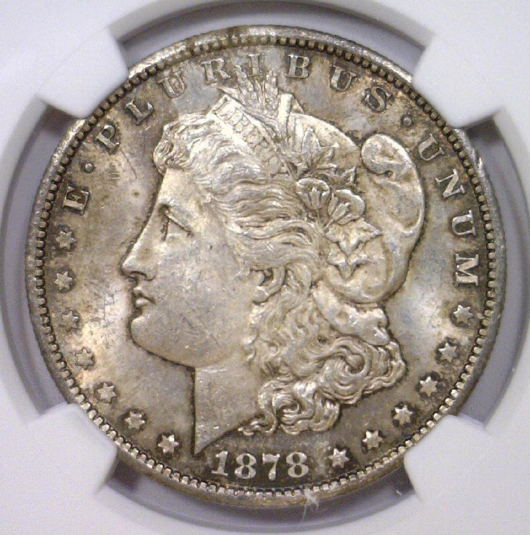 1878-CC Morgan Silver Dollar NGC MS63