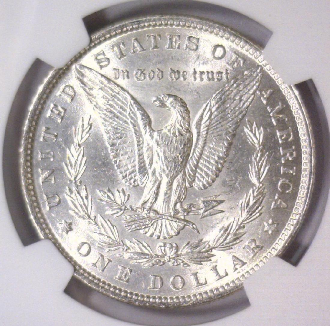 1880 Morgan Silver Dollar NGC MS61 - 3