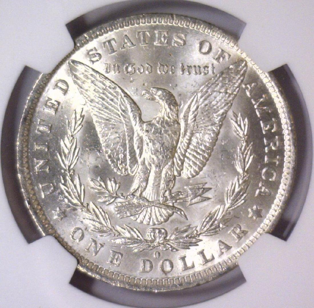 1884-O Morgan Silver Dollar NGC MS61 - 3