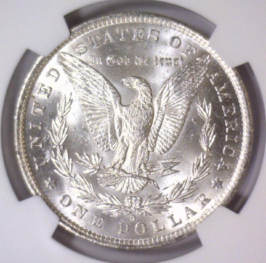 1884-O Morgan Silver Dollar NGC MS61 - 3