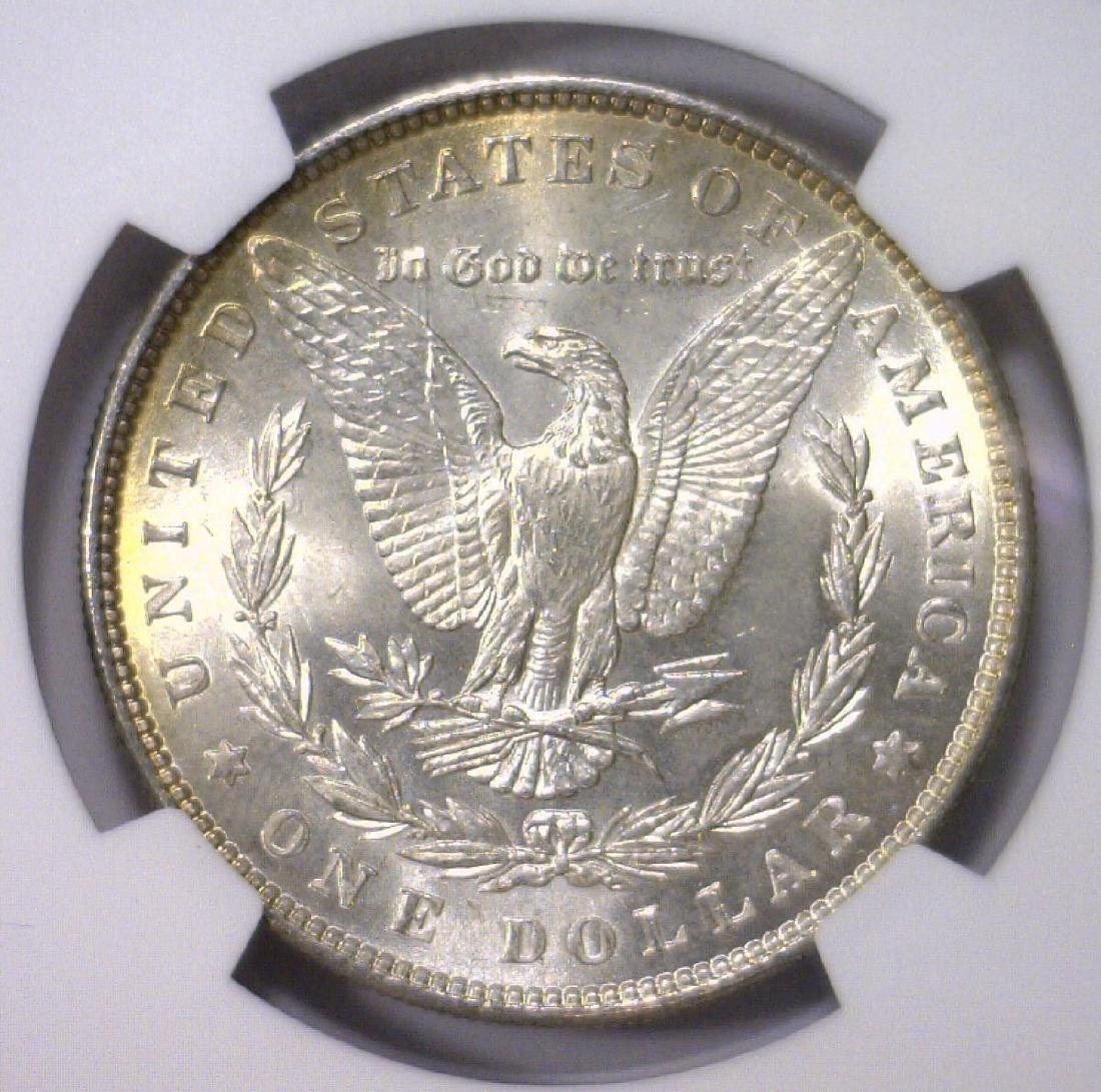 Trio of 1886 Morgan Silver Dollars NGC MS64 - 10