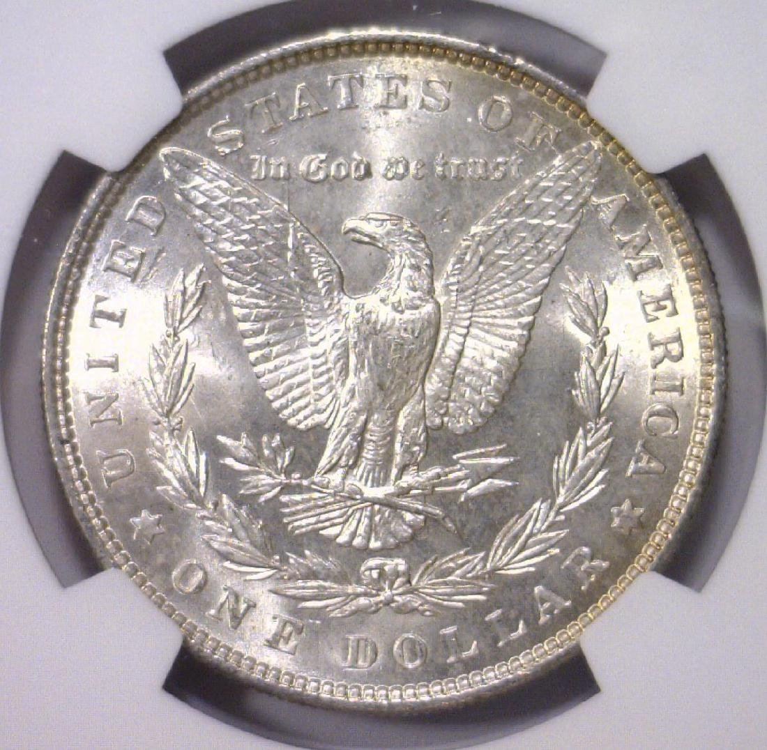 Trio of 1886 Morgan Silver Dollars NGC MS64 - 4