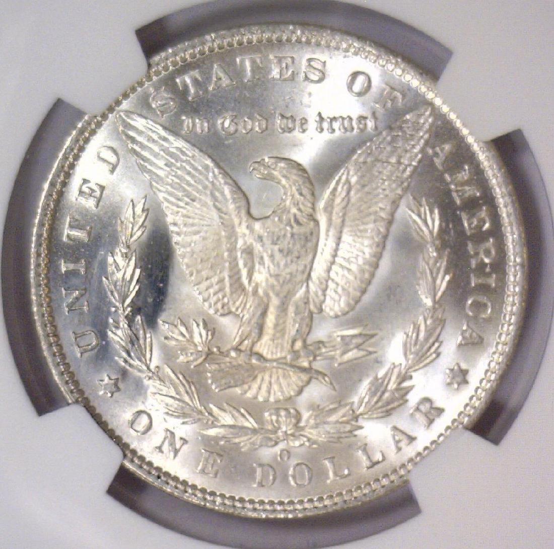 1892-O Morgan Silver Dollar NGC UNC details - 3