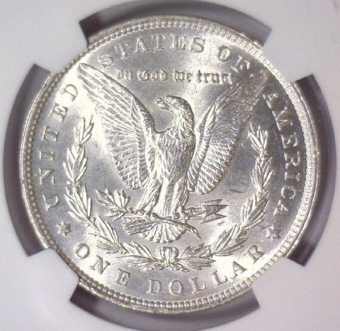 1896 Morgan Silver Dollar NGC MS61 - 3
