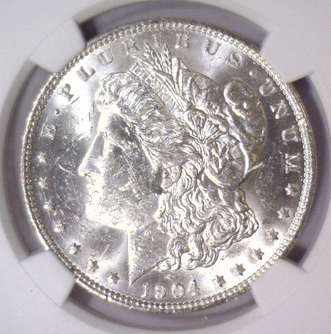 1904-O Morgan Silver Dollar NGC MS61