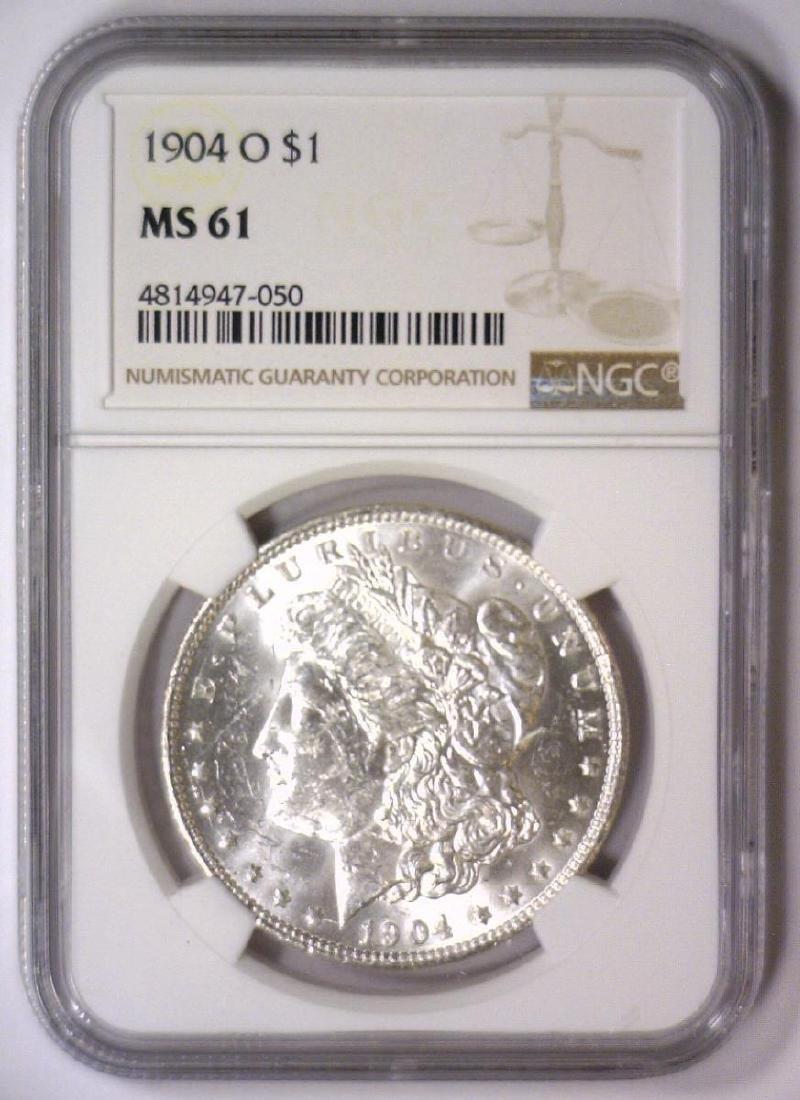 1904-O Morgan Silver Dollar NGC MS61 - 2