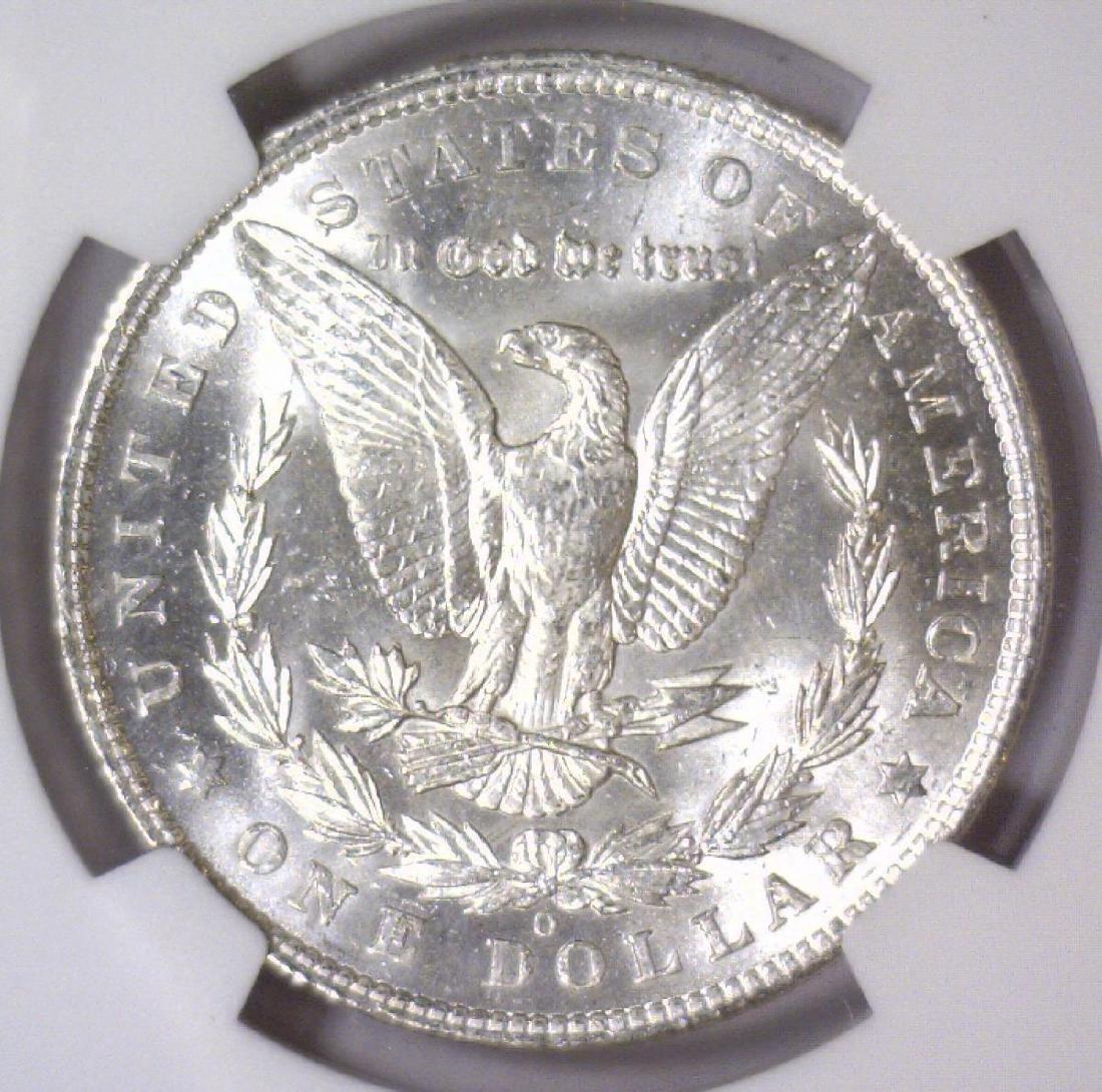 1904-O Morgan Silver Dollar NGC MS61 - 3