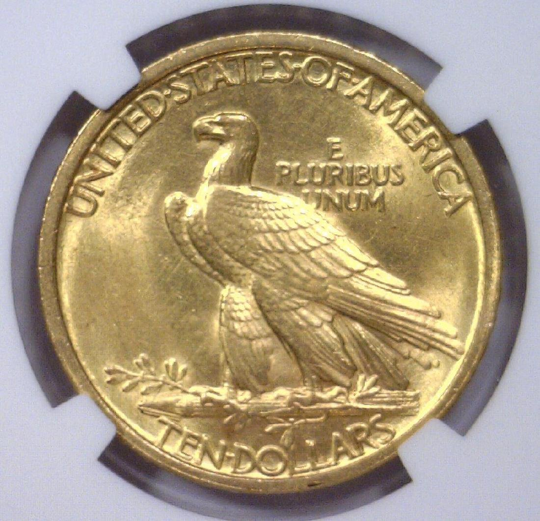 1907 $10 Indian Head Gold Eagle NGC MS61 - 3