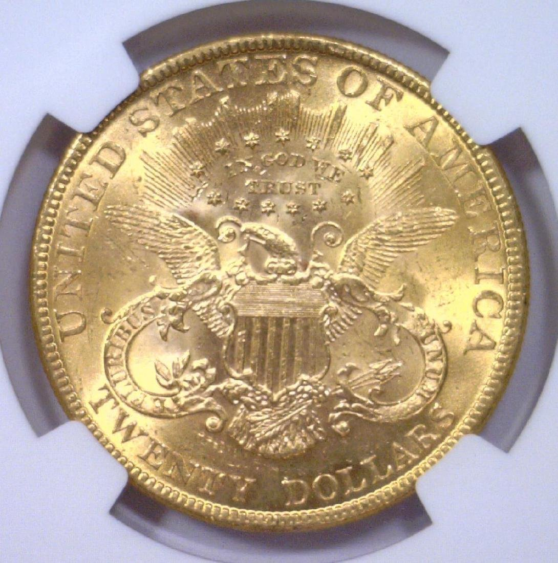 1895 $20 Liberty Gold Double Eagle NGC MS62 - 3