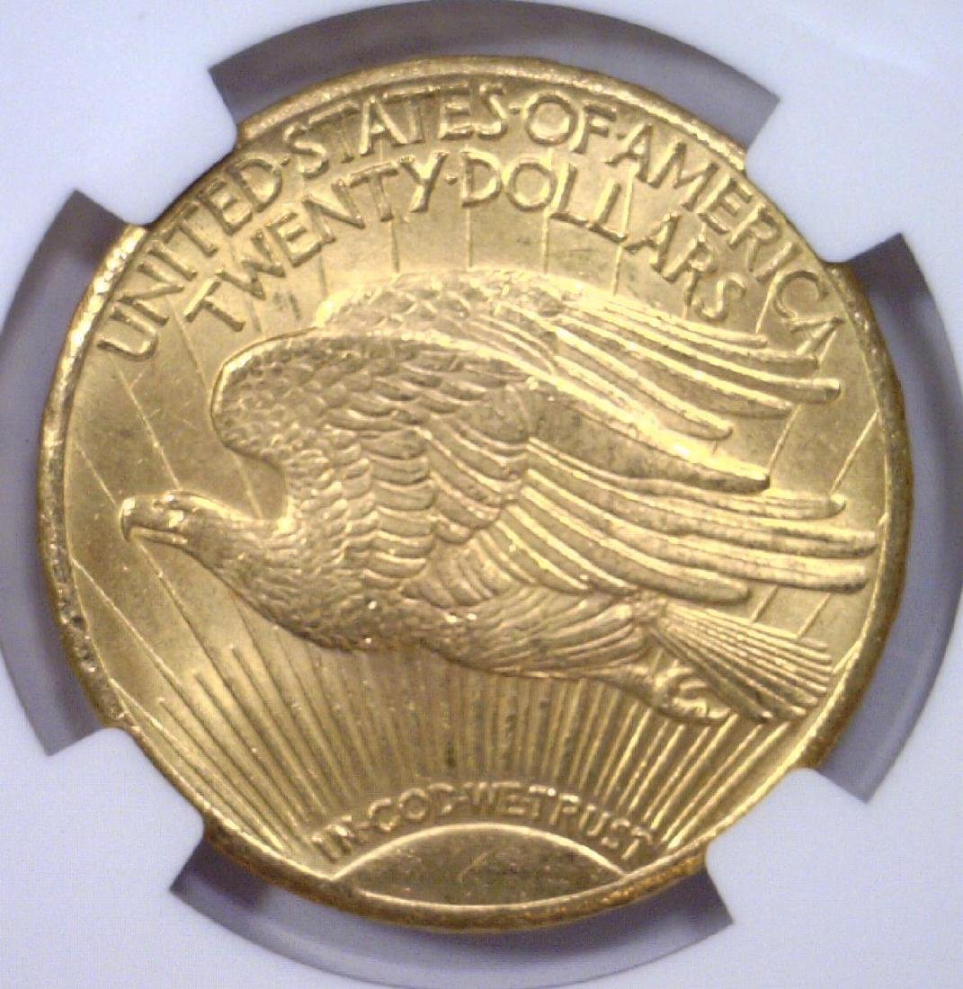 1928 $20 St Gaudens Gold Double Eagle NGC MS64 - 3