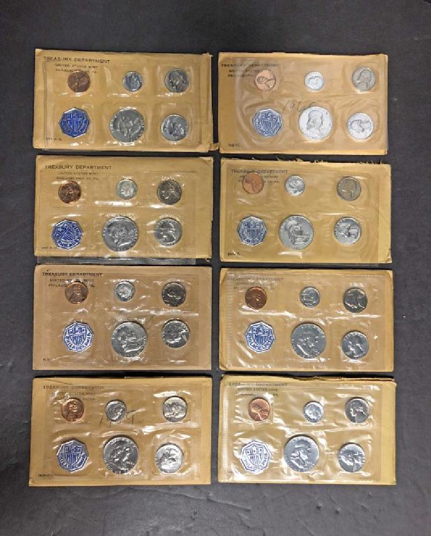 1956-1963 Silver Proof Set 8 Year Date Run