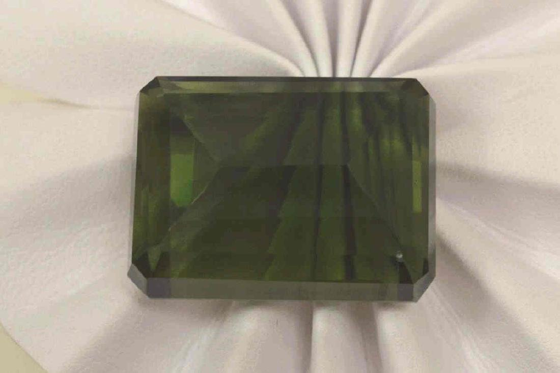Loose 111.00ct Museum Size Green Amethyst - 2