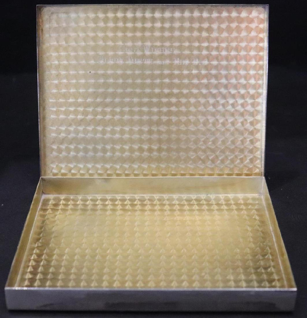 R. B. & Co. 2963 Sterling Silver Cigarette Case