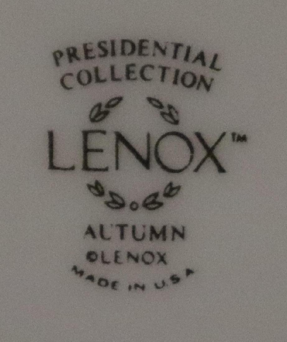 39 Pcs. Lenox Autumn Presidential Collection China - 8