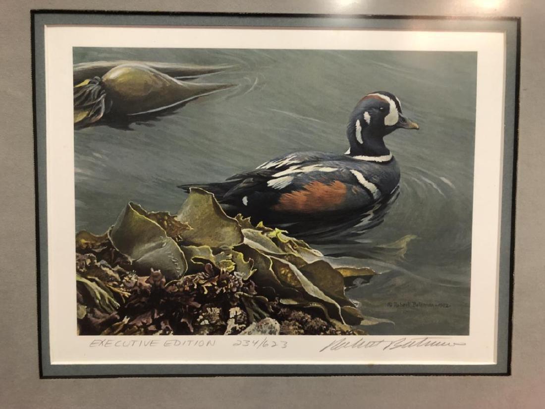 Lot of 2 Framed Duck Stamp Print by Robert Bateman - 3