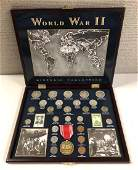 World War II Historical Coin Collection wMedal