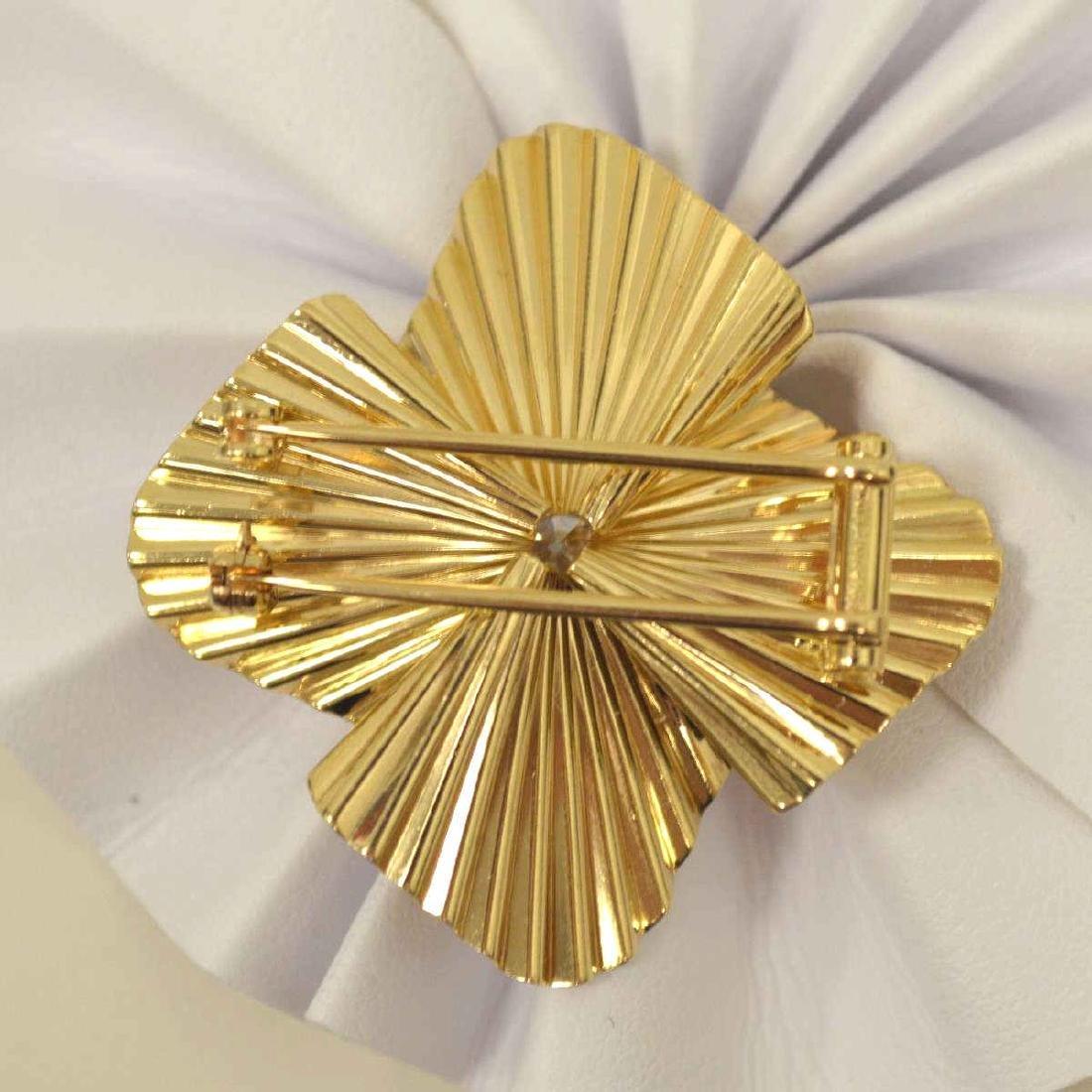 14kt Old European cut diamond pendant by Tiffany - 4