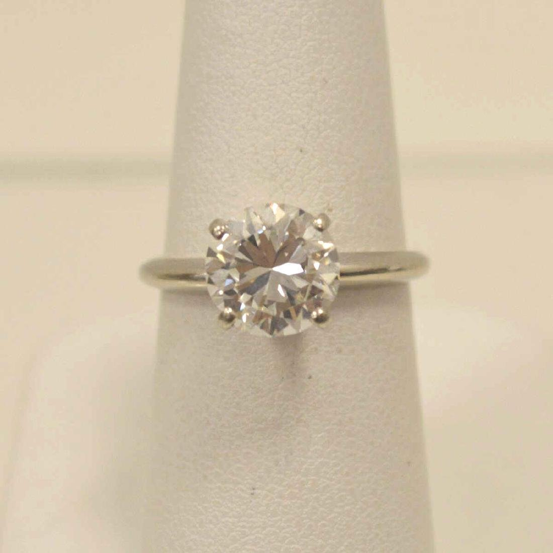 2.50ct. Diamond Solitaire Engagement Ring