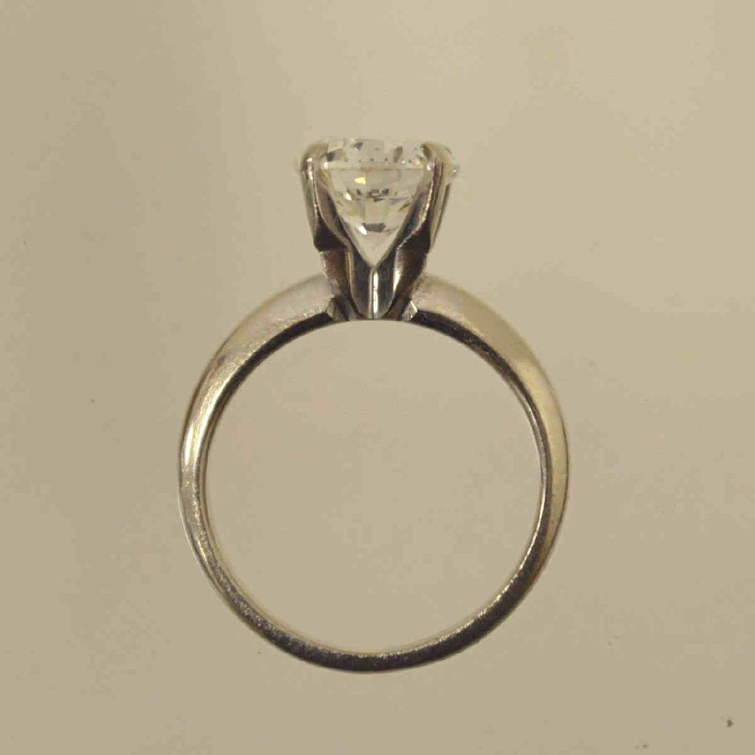 2.50ct. Diamond Solitaire Engagement Ring - 6