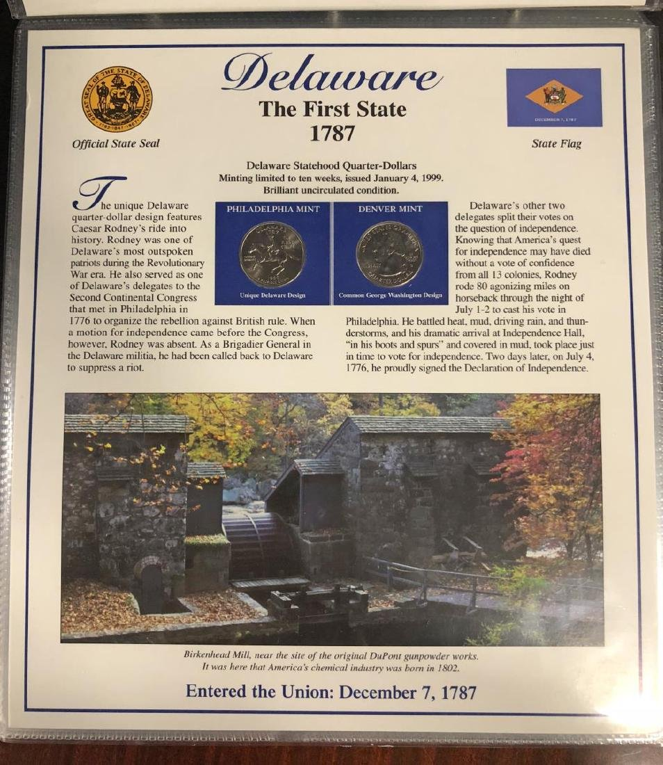 Statehood Quarter & Postal Collection 1999-2003 - 3