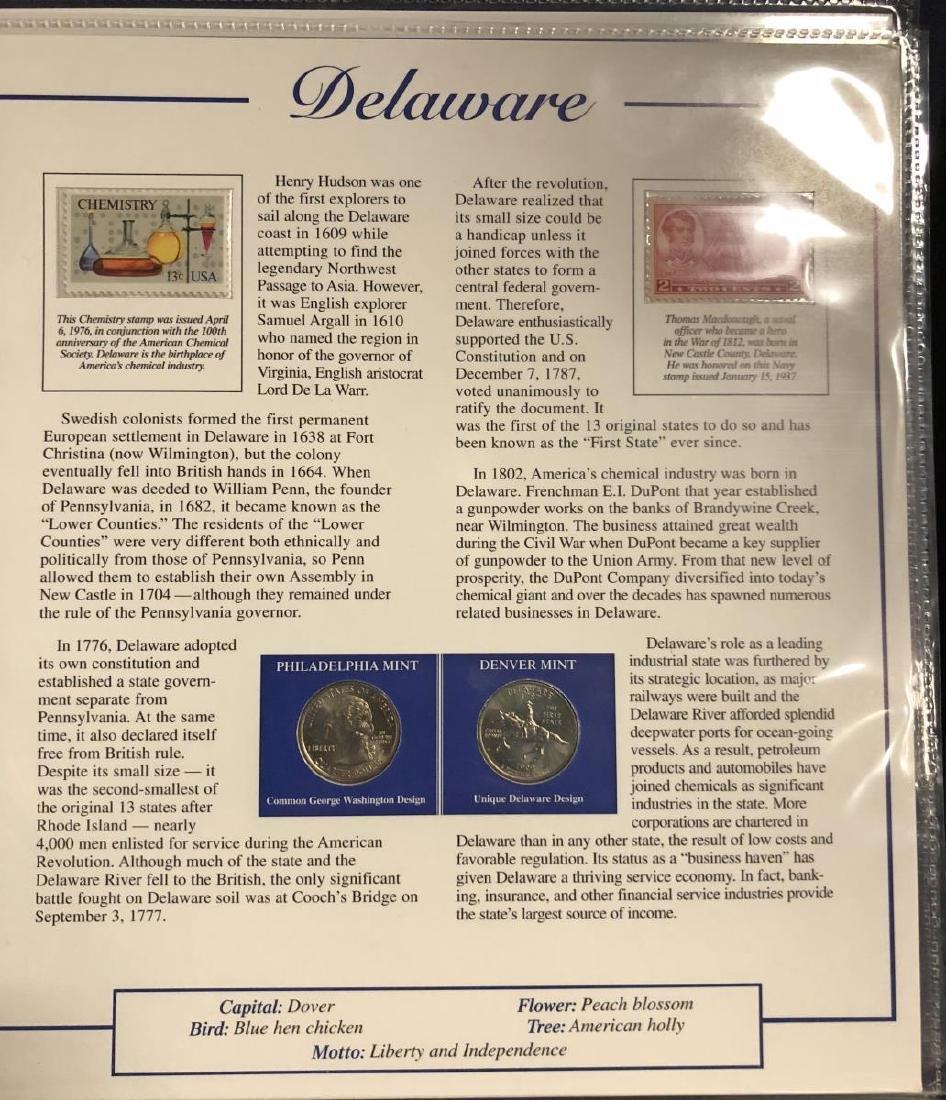Statehood Quarter & Postal Collection 1999-2003 - 4