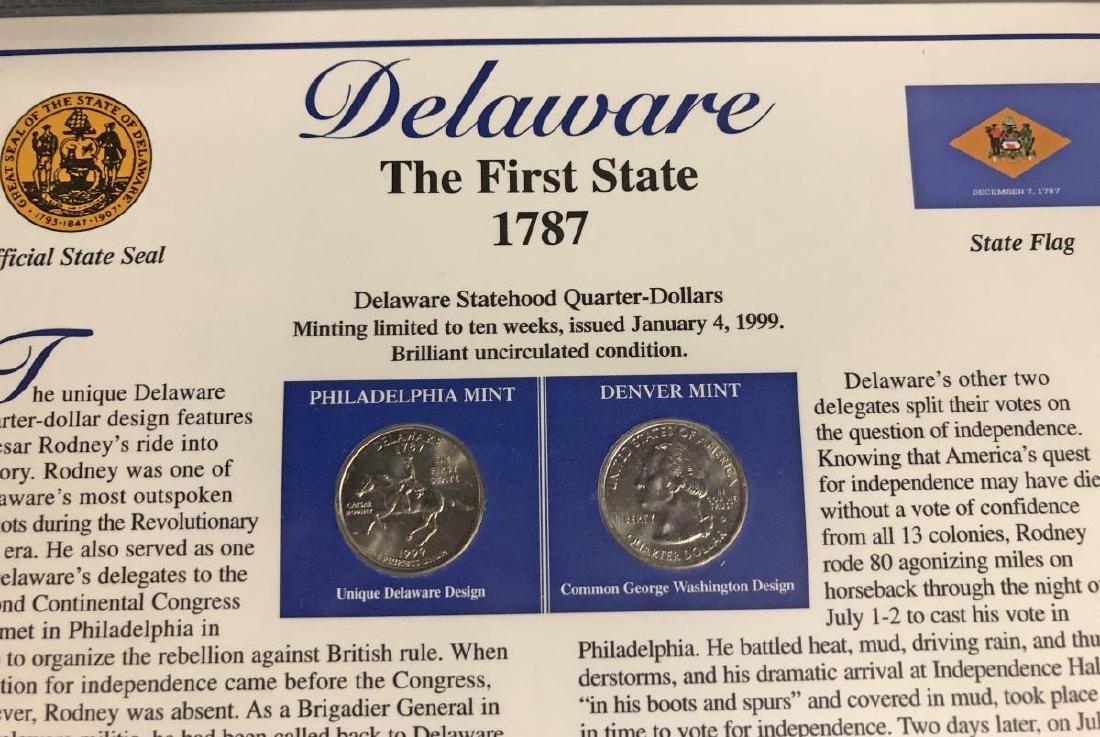 Statehood Quarter & Postal Collection 1999-2003 - 5