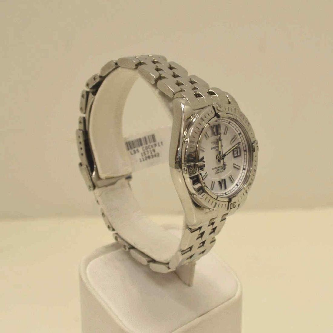 """Ladies Stainless Breitling """"Cockpit"""" Watch - 2"""