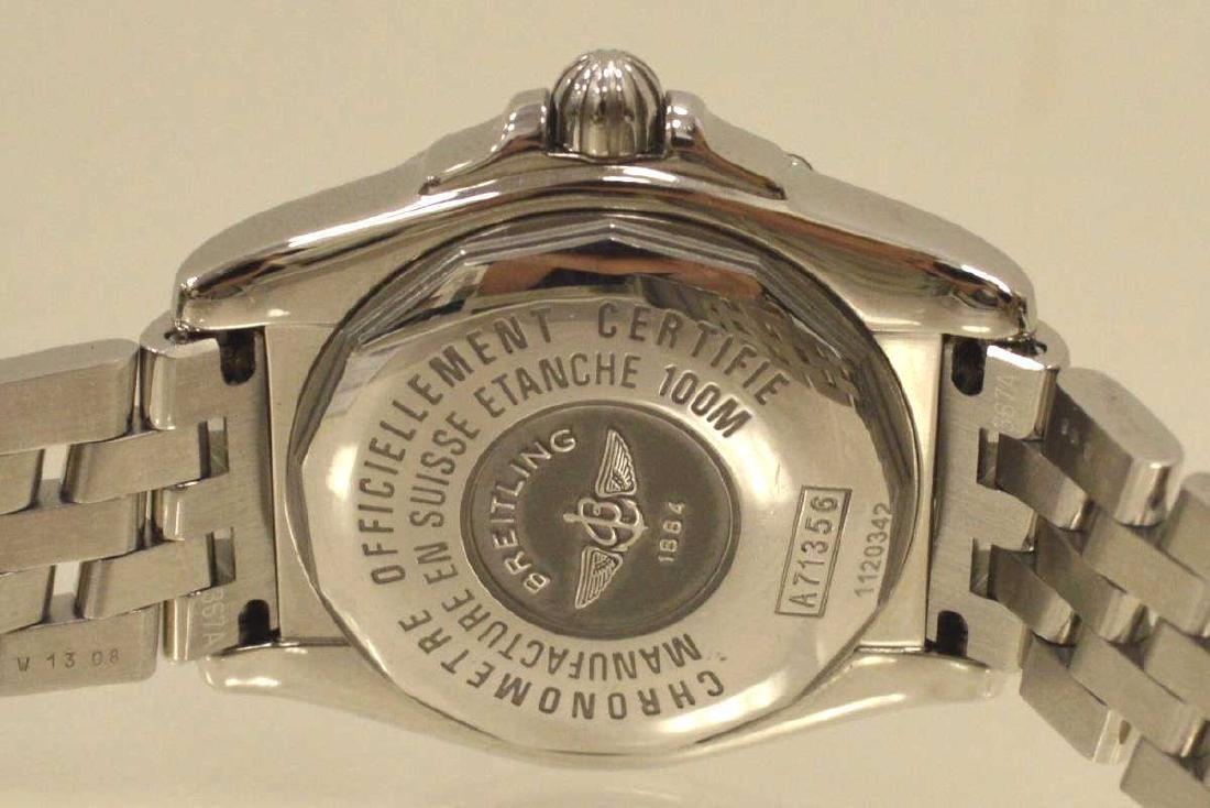 """Ladies Stainless Breitling """"Cockpit"""" Watch - 5"""