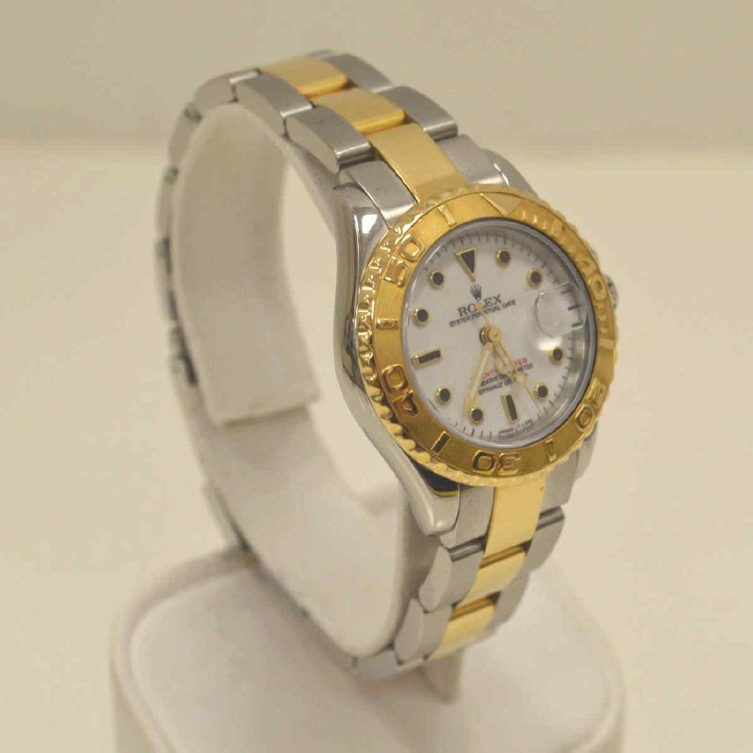 Ladies two tone Rolex Yatchmaster Watch - 2