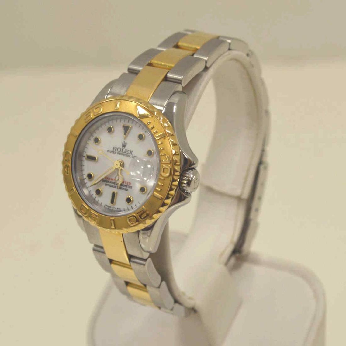 Ladies two tone Rolex Yatchmaster Watch - 3
