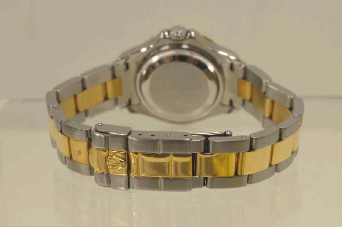 Ladies two tone Rolex Yatchmaster Watch - 4