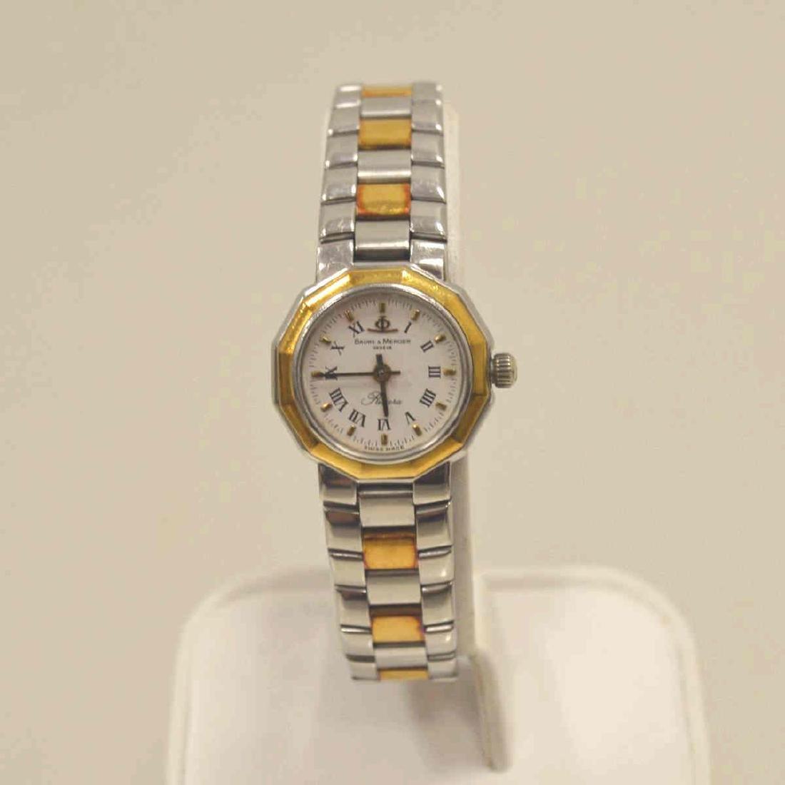 Ladies Two Tone Baume & Mercier Watch
