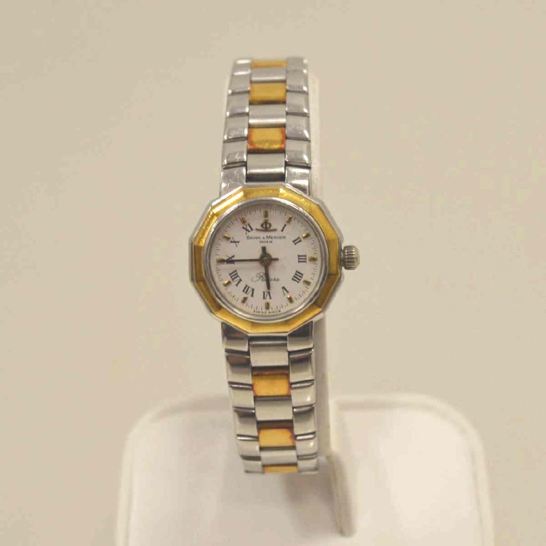 Ladies Two Tone Baume & Mercier Watch