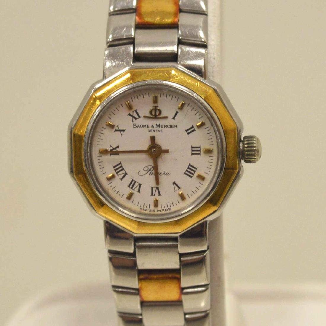 Ladies Two Tone Baume & Mercier Watch - 2
