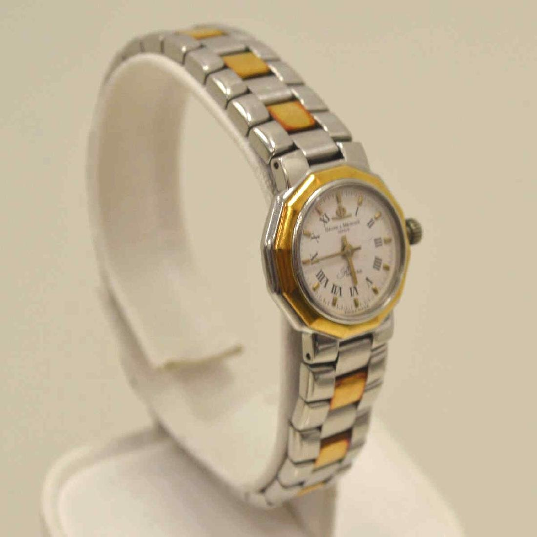 Ladies Two Tone Baume & Mercier Watch - 3