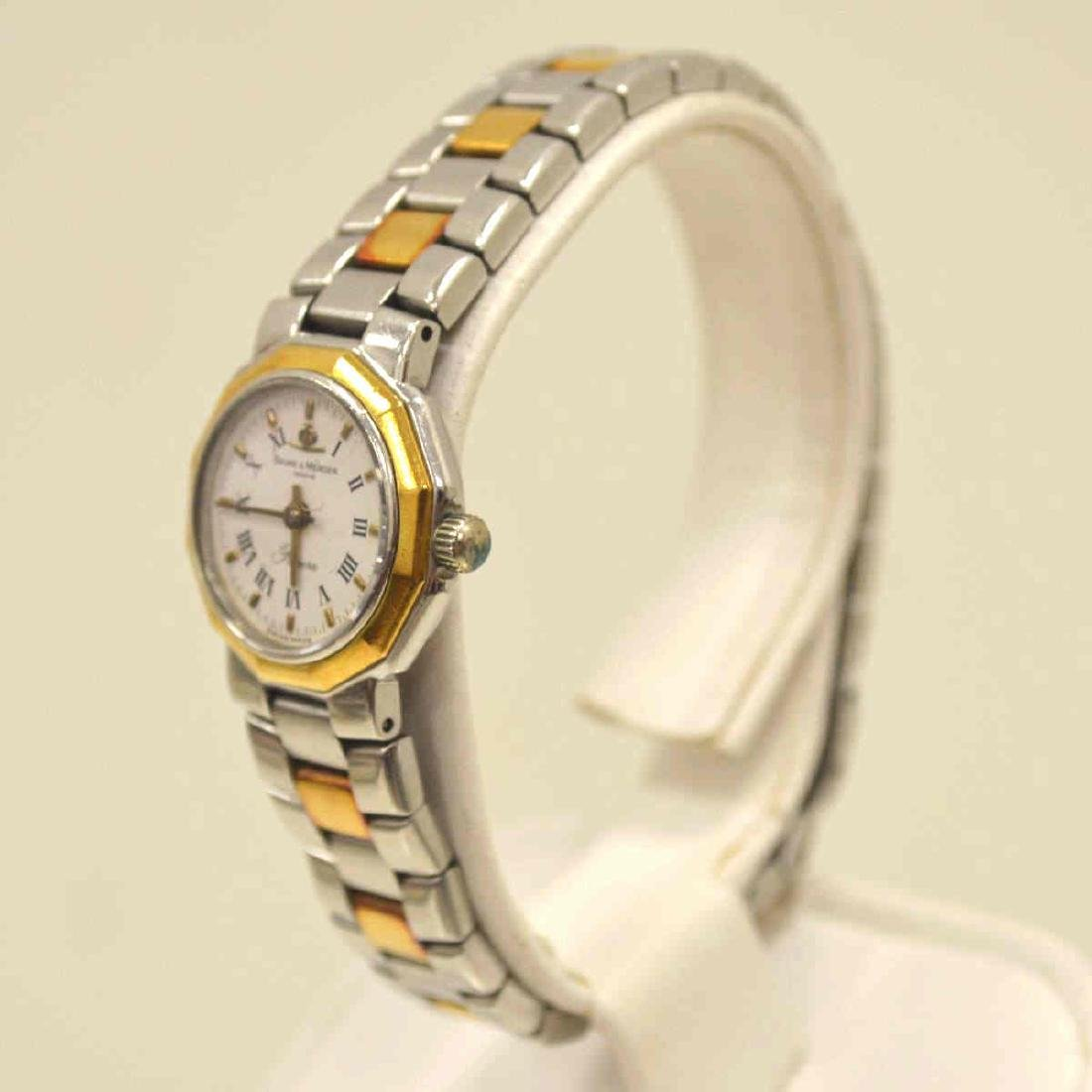 Ladies Two Tone Baume & Mercier Watch - 4