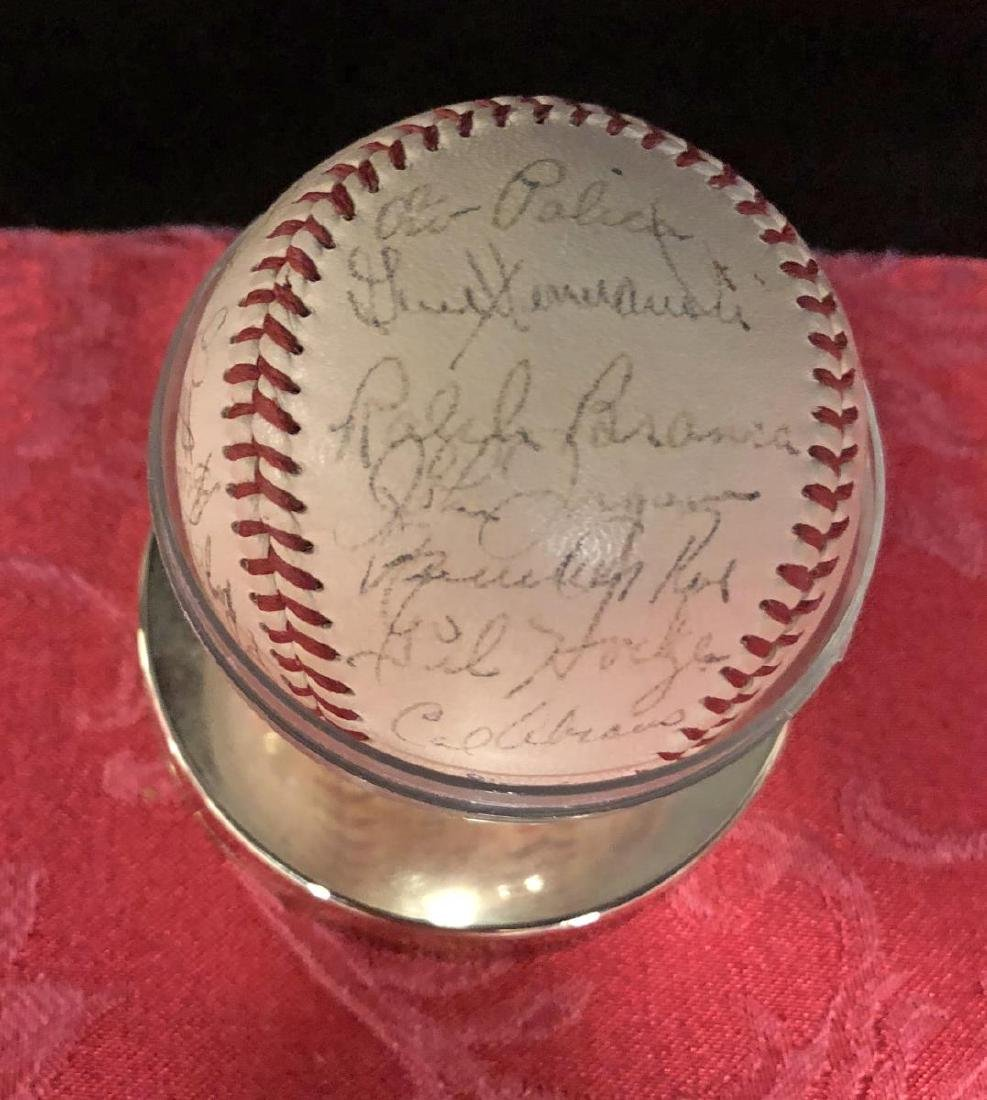 1950-1951 Brooklyn Dodgers Team Signed Baseball