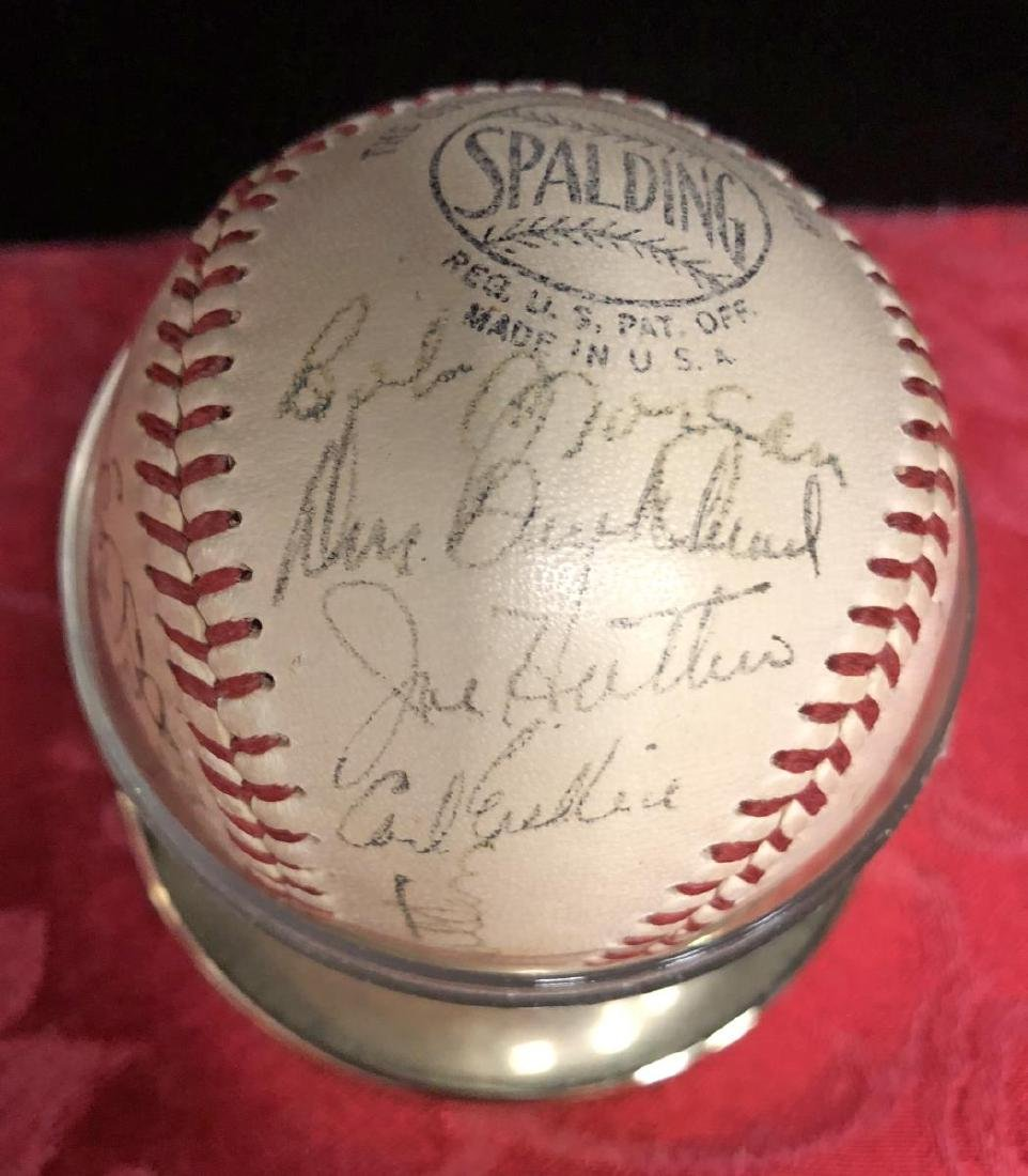 1950-1951 Brooklyn Dodgers Team Signed Baseball - 3