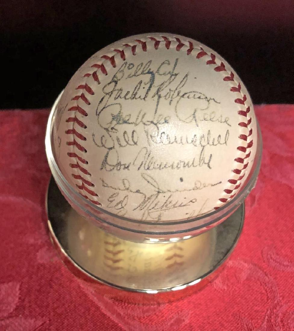 1950-1951 Brooklyn Dodgers Team Signed Baseball - 6