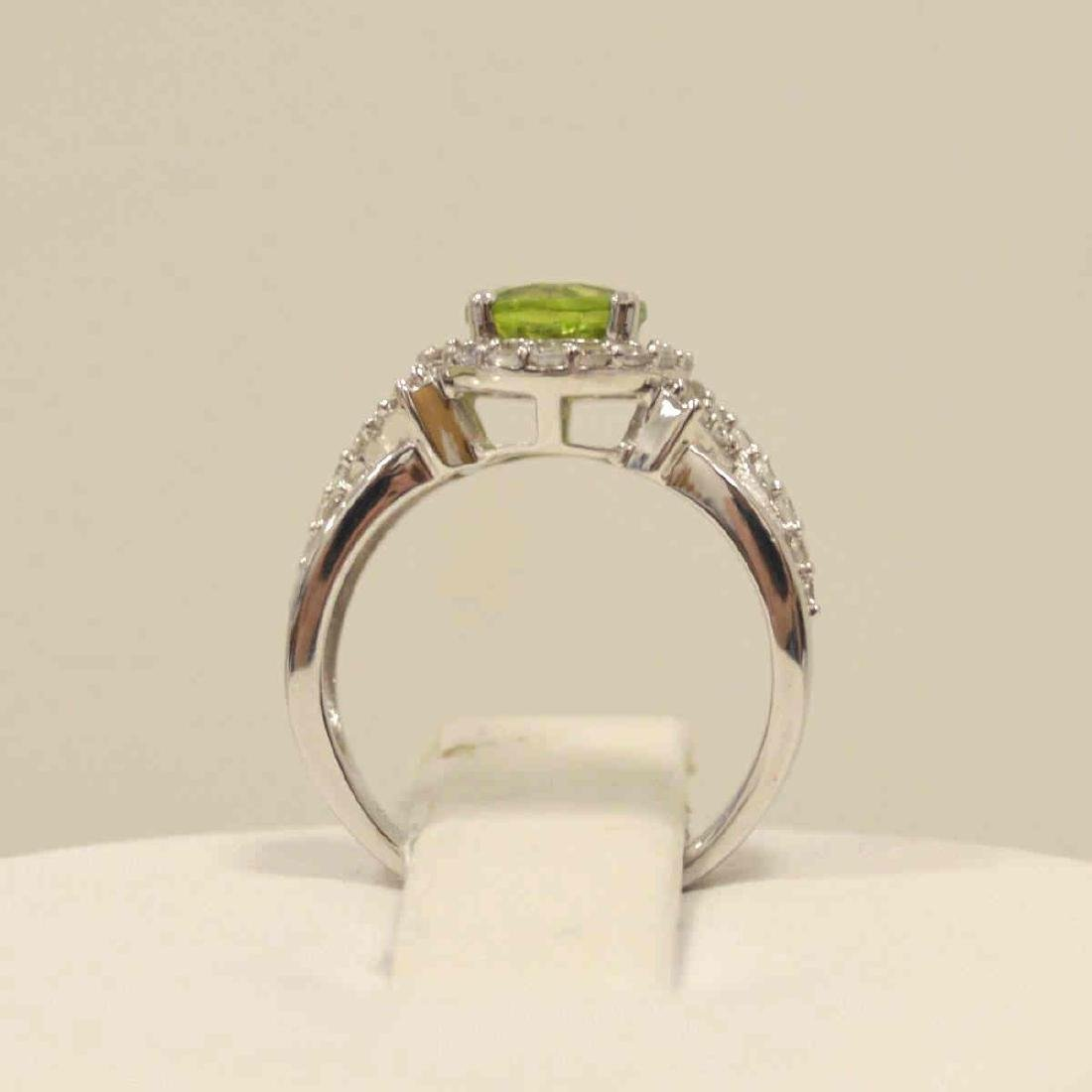 Sterling Silver Peridot Fashion ring - 3