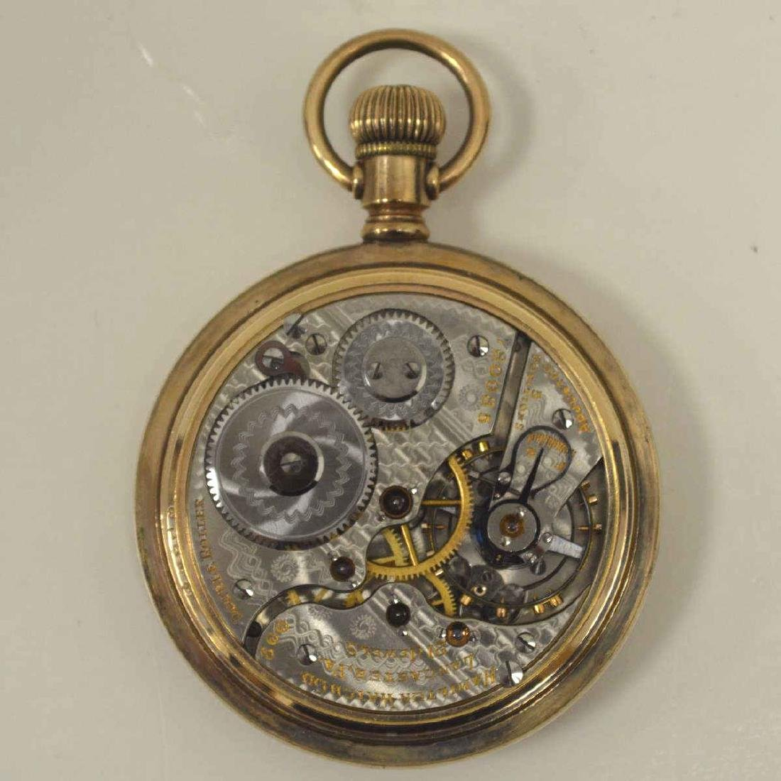 Lot of gold plated pocket watches - 6