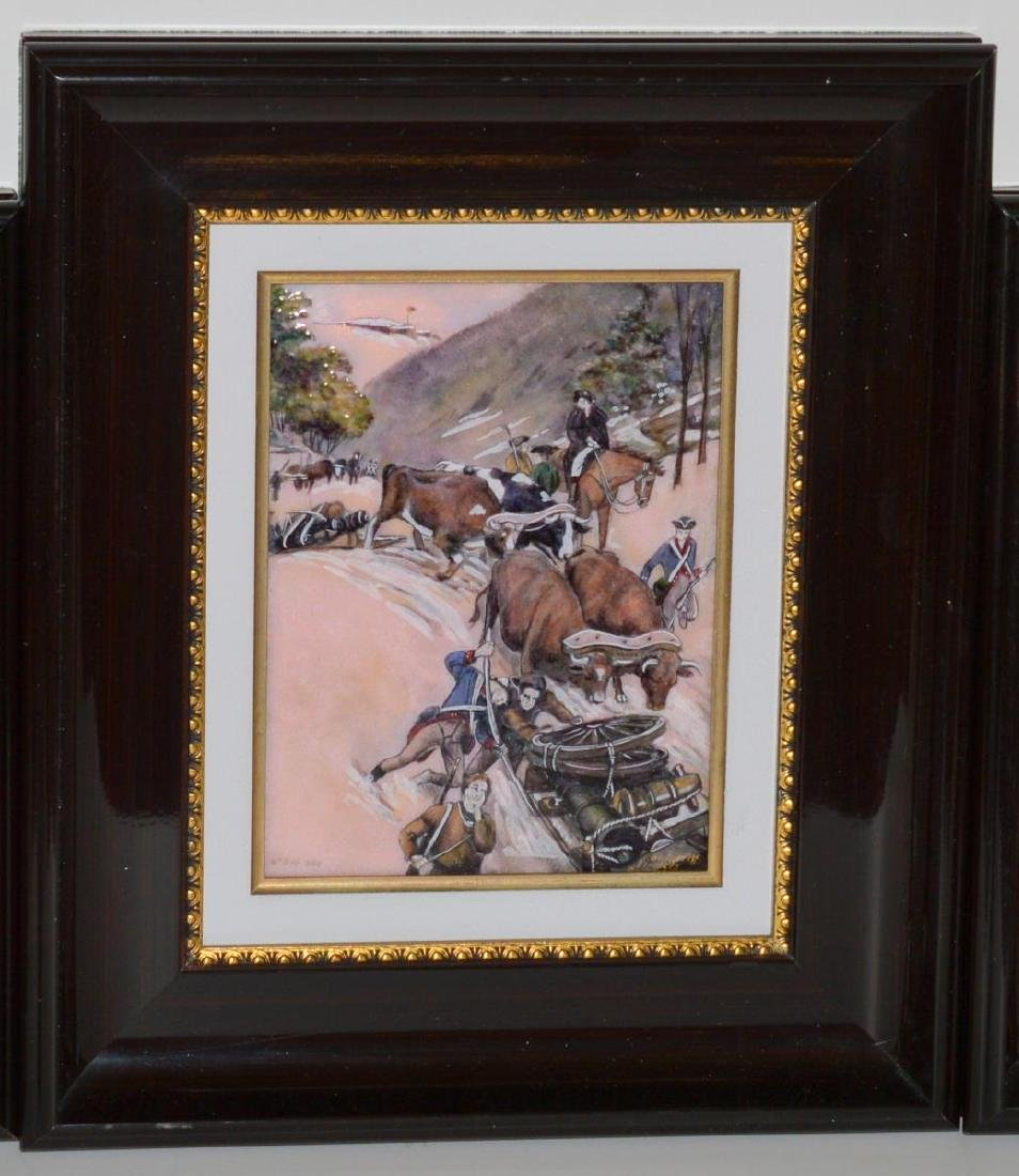 Pierre Bonnet Enamel Over Copper Fort Ticonderoga
