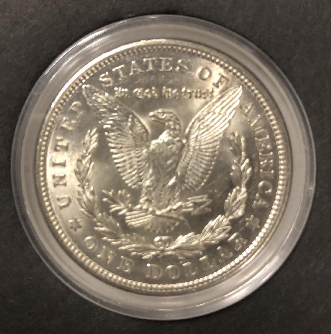 Uncirculated Genuine 1921 Morgan Silver $1 - 4