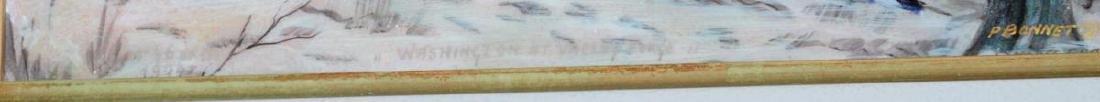 Pierre Bonnet Enamel Over Copper George Washington - 3