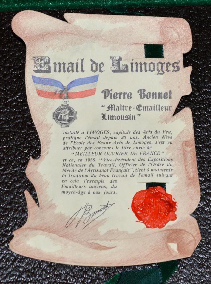 Pierre Bonnet Enamel Over Copper George Washington - 4
